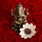 ecraftindia-antique-finish-brass-lord-ganesha-on-lotus_4