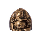 ecraftindia-brass-antique-finish-two-faced-lord-ganesha_5