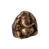ecraftindia-brass-antique-finish-two-faced-lord-ganesha_6