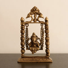 ecraftindia-brass-lord-ganesha-on-jhoola_1