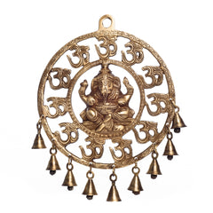 bgg514-ecraftindia-om-ganesha-brass-wall-hanging-with-bells_1