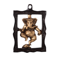 ecraftindia-ganesha-in-frame-brass-wall-hanging_1