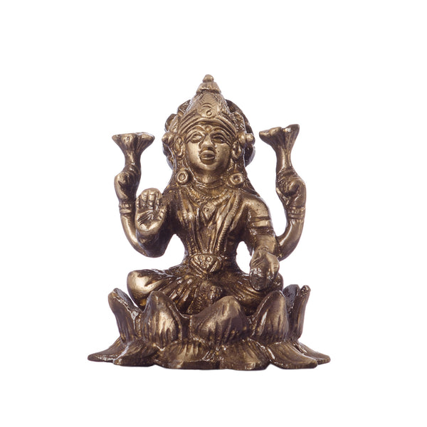 ecraftindia-antique-finish-brass-goddess-laxmi-on-lotus_1