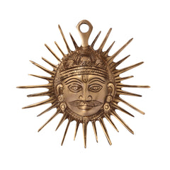 ecraftindia-smiling-surya-brass-wall-hanging_1