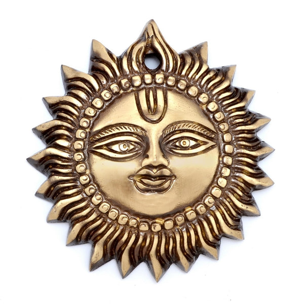 ecraftindia-brass-smiling-surya-wall-hanging_1