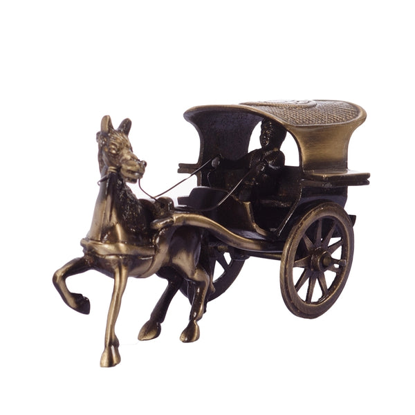 ecraftindia-antique-finish-brass-european-horse-cart_1