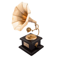 ecraftindia-brass-antique-music-decorative-canon-showpiece_1
