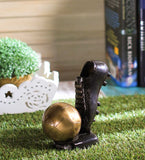 ecraftindia-decorative-soccer-ball-and-shoe-brass-tableware_2