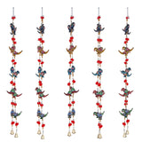 ecraftindia-parrot-mirror-work-door-hanging-metal-tapestry-artificial-beads-set-of-2_3