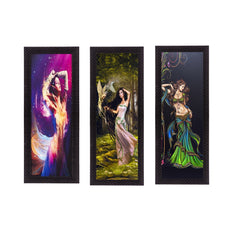 c3fpb2215-ecraftindia-set-of-3-dancing-angels-satin-matt-texture-uv-art-painting_1