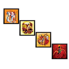 ecraftindia-set-of-4-abstract-figures-satin-matt-texture-uv-art-painting_1