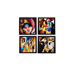 c4fpb1117-ecraftindia-set-of-4-radha-krishna-satin-matt-texture-uv-art-painting_1