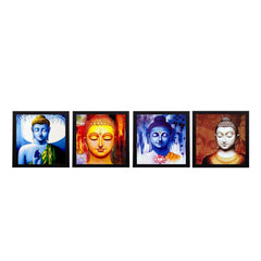 c4fpb1122-ecraftindia-set-of-4-lord-buddha-satin-matt-texture-uv-art-painting_1