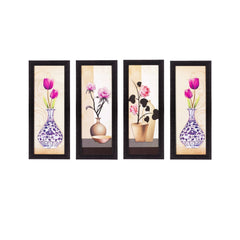 c4fpb2105-ecraftindia-set-of-4-botanical-floral-pots-satin-matt-texture-uv-art-painting_1