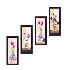 c4fpb2106-ecraftindia-set-of-4-botanical-floral-pots-satin-matt-texture-uv-art-painting_1