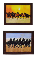 ecraftindia-set-of-2-running-horses-satin-matt-texture-uv-art-painting_1