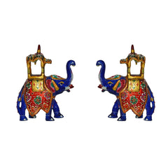 ecraftindia-combo-of-meenakari-colorful-ambabari-elephant-statue_1