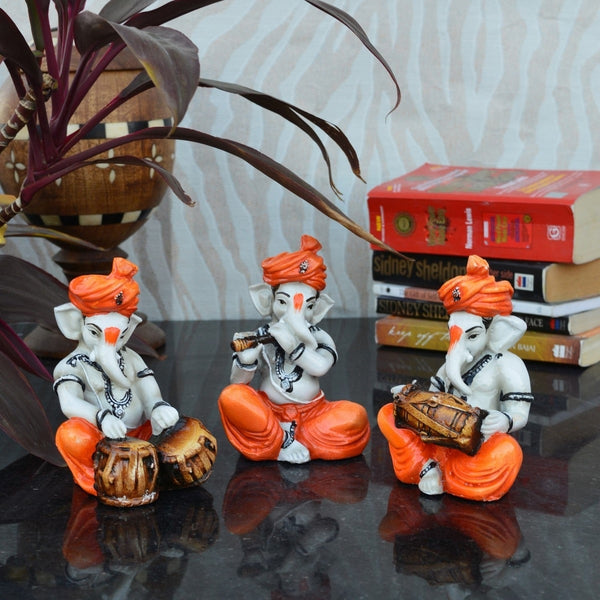 ecraftindia-set-of-3-ganesha-playing-tabla-flute-and-dholak_2