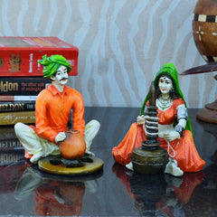 com285-ecraftindia-combo-of-rajasthani-craftman-and-lady-statue_2