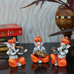 ecraftindia-set-of-3-ganesha-playing-violen-dholak-and-flute_2