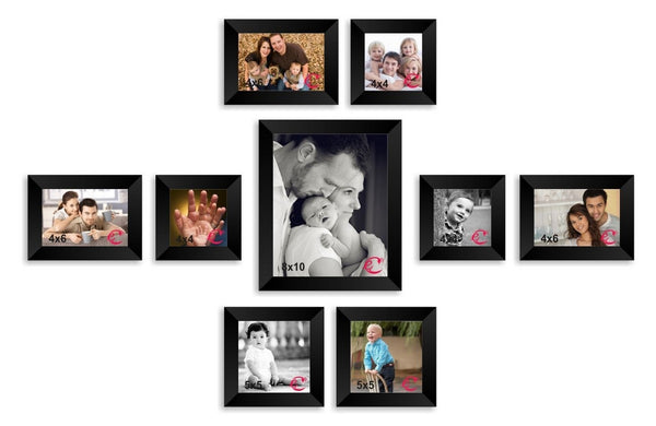 ecraftindia-memory-wall-collage-photo-frame-set-of-9-individual-photo-frames_1