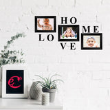 "eCraftIndia-Memory-Wall-Collage-Photo-Frame-Set-of-3-Photo-Frames-for-3-Photos-of-5""x7"",-1-piece-of-HOME,-1-piece-of-LOVE_2"