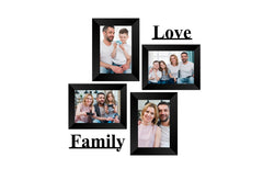 "eCraftIndia-Memory-Wall-Collage-Photo-Frame-Set-of-4-Photo-Frames-for-4-Photos-of-5""x7"",-1-Piece-of-LOVE,-1-Piece-of-FAMILY_1"