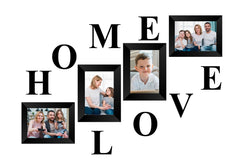 "eCraftIndia-Memory-Wall-Collage-Photo-Frame-Set-of-4-Photo-Frames-for-4-Photos-of-4""x6"",-1-piece-of-HOME,-1-piece-of-LOVE_1"