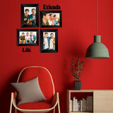 "eCraftIndia-Memory-Wall-Collage-Photo-Frame-Set-of-4-Photo-Frames-for-2-Photos-of-5""x7"",-2-Photos-of-4""x6"",-1-Piece-of-FRIENDS,-1-Piece-of-LIFE_3"