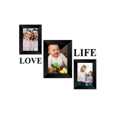 "eCraftIndia-Memory-Wall-Collage-Photo-Frame-Set-of-3-Photo-Frames-for-2-Photos-of-4""x6"",-1-Photos-of-5""x7"",-1-Piece-of-LOVE,-1-Piece-of-LIFE_1"