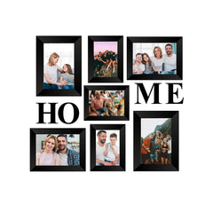 "eCraftIndia-Memory-Wall-Collage-Photo-Frame-Set-of-7-Photo-Frames-for-3-Photos-of-4""x6"",-4-Photos-of-5""x7"",-1-Piece-of-HOME_1"