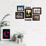 "eCraftIndia-Memory-Wall-Collage-Photo-Frame-Set-of-5-Photo-Frames-for-2-Photos-of-4""x6"",-3-Photos-of-5""x7"",-1-Piece-of-LOVE,-1-Piece-of-FAMILY_2"