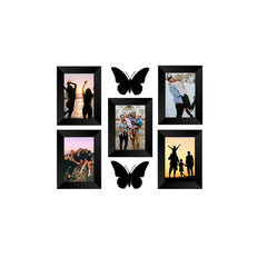 "eCraftIndia-Memory-Wall-Collage-Photo-Frame-Set-of-5-Photo-Frames-for-5-Photos-of-5""x7"",-2-Pieces-of-BUTTERFLIES_1"