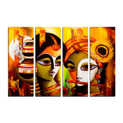 cpgkb2101-ecraftindia-4-panel-radha-krishna-premium-canvas-painting_1