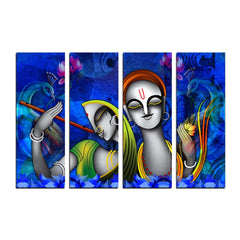 cpgkb2114-ecraftindia-4-panel-radha-krishna-premium-canvas-painting_1