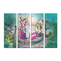 ecraftindia-4-panel-radha-krishna-premium-canvas-painting_1