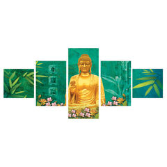 cpgkb5110-ecraftindia-set-of-5-lord-buddha-premium-canvas-painting_1