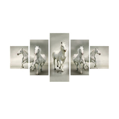 cpgkb59004-ecraftindia-set-of-5-running-lucky-horses-design-premium-canvas-painting_1