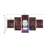 cpgkb59036-ecraftindia-set-of-5-lord-buddha-premium-canvas-painting_3
