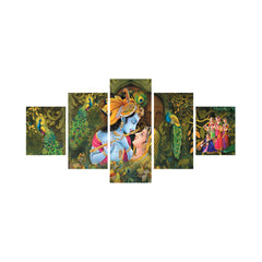 cpgkb59056-ecraftindia-set-of-5-radha-krishna-premium-canvas-painting_1