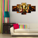 cpgkb59666-ecraftindia-set-of-5-lord-ganesha-premium-canvas-painting_2