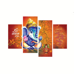 cpgkb79119-ecraftindia-set-of-4-lord-ganesha-premium-canvas-painting_1