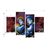 cpgkb79121-ecraftindia-set-of-4-radha-krishna-premium-canvas-painting_3