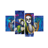 cpgkb79125-ecraftindia-set-of-4-abstract-radha-krishna-premium-canvas-painting_1