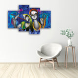 cpgkb79125-ecraftindia-set-of-4-abstract-radha-krishna-premium-canvas-painting_2