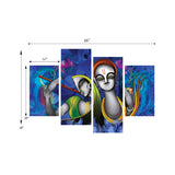 cpgkb79125-ecraftindia-set-of-4-abstract-radha-krishna-premium-canvas-painting_3