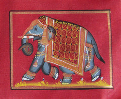 EPHB58-eCraftIndia-Royal-Elephant-Original-Art-Silk-Painting_1