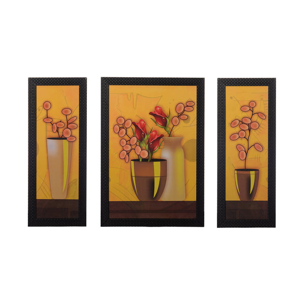 ecraftindia-set-of-3-floral-pots-satin-matt-texture-uv-art-painting_1