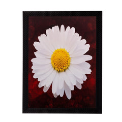 ecraftindia-white-sunflower-matt-textured-uv-art-painting_1