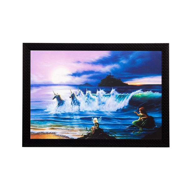 ecraftindia-running-horses-in-water-matt-textured-uv-art-painting_1
